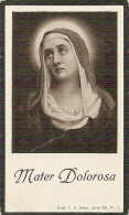 DP. CLEMENCE DEBOSSCHERE - ANSEGHEM 1878 - 1925 - Religion & Esotericism