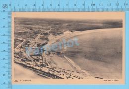 CP Agadir ( Vue Sur LaBaie, 1938, Carte D'un Militaire Pour Permission Speciale  ) 2 Scans - Agadir