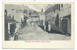 ///   CPA - Asie - YEMEN - ADEN - Steamer Point Main Street   // - Yémen