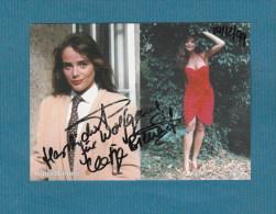 Katja Bienert (Schauspielerin)  -  Persönlich Signierte Autogrammkarte - Autografi