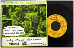 Virgile   Eu Pourquoi Pas  MONOLIGUES BRUXELLOIS Bruxelles   Tich  à L Eglise - Humor, Cabaret