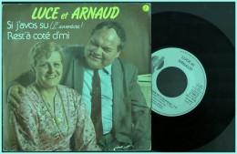 Luce Et Arnaud    Si J Avos Su   Rest à Coté D Mi Patois  Ch Ti Picard  Lille - Comiques, Cabaret