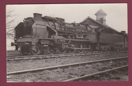 PHOTO TRAIN - 220615 -  PO 4707 - Locomotive Gare Chemin De Fer - Gares - Avec Trains