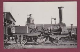 PHOTO TRAIN - 220615 - N°3 N°80- Locomotive Gare Chemin De Fer - Stations With Trains