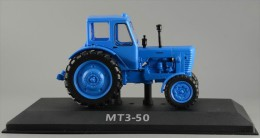 Tractor. MTZ-50. Belarus. 1972.  Hachette 1:43 Die Cast. Trattore. Tracteur - Cars & 4-wheels