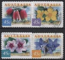 Australien 1999 Blumen Der Australischen Küstenregionen 1809/12 BA Gestempelt - 1990-99 Elizabeth II
