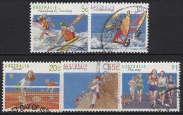 Australien 1990 Sport 1182/86 Gestempelt - 1990-99 Elizabeth II