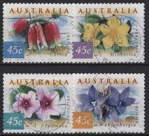 Australien 1999 Blumen Der Australischen Küstenregionen 1809/12 BC Gestempelt - 1990-99 Elizabeth II