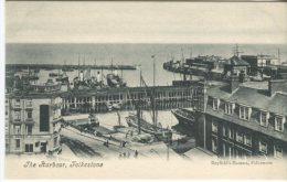 Bayfield's Bazaar Postcard,  The Harbour, Folkestone, Animated - Folkestone