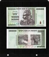 ZIMBABWE : 50 000 000 000 000 Dollars  2008. Pk.90.  SC. NEUF UNC. - Zimbabwe