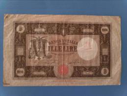 1000 Lire Grande M 21/06/1928 RRR - 1000 Lire