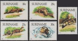 SURINAM 1989 Giant Otter MNH/MH