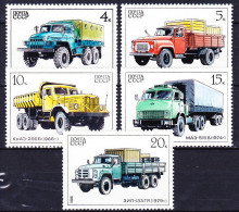 RUSSIE - URSS 1986 YT N° 5330 à 5334 ** - 1923-1991 URSS