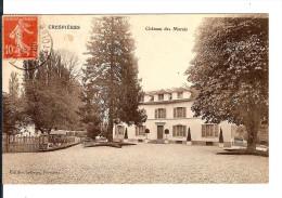 78 CRESPIERES Chateau Des Marais / Cpa RARE Ed. Lelargze Vernaire Voyagée 1932 / Bon Etat - Altri Comuni