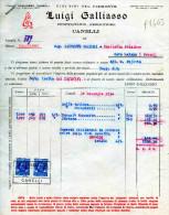 CANELLI-14-12-1934-DITTA  LUIGI CALASSO-VINI FINI DEL PIEMONTE--PRODUTTORE E PROPRIETARIO - Italia