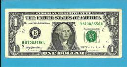 U. S. A. - 1 DOLLAR - 1995 - Pick 496a - NEW YORK - 2 Scans - Billets De La Federal Reserve (1928-...)