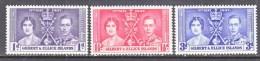 GILBERT  And  ELLICE ISLANDS  37-9   **  CORONATION - Gilbert & Ellice Islands (...-1979)