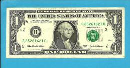 U. S. A. - 1 DOLLAR - 2003 A - Pick 515 B - NEW YORK - 2 Scans - Billetes De La Reserva Federal (1928-...)