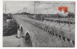 SAINCAIZE - N° 2 - LE GUETIN - PONT CANAL AVEC PENICHE - Other Municipalities