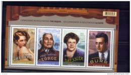 CANADA 2008, #2279, CANADIANS IN HOLLYWOOD:THE SEQUEL  .  GOOD CONDITION  SS - Blocks & Sheetlets