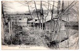 CPA 1925 MOUROUX LE LAVOIR ET UN COIN DU GRAND MORIN - Sonstige Gemeinden