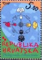 HR 2001-586 YEAR OF DIALOG, HRVATSKA CROATIA, 1 X 1v, MNH - Gemeinschaftsausgaben