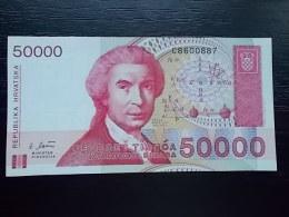 HRVATSKA - 50000 DINARA - 1993 - UNC - Croatia