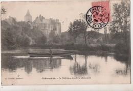 Chateaudun Le Chateau Vu De La Boissière - Chateaudun