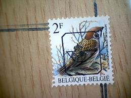 OBP PRE818 - Typos 1986-..(Oiseaux)