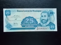 NICARAGUA - 25 CENTAVOS - UNC - Nicaragua
