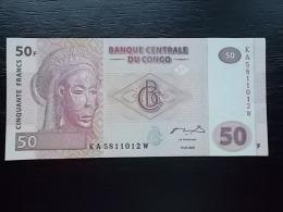 CONGO - 50 FRANCS 2007 - UNC - Zonder Classificatie