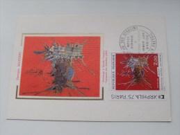 Exposition Philatélique Int. Paris 1975 Hommage à Nicolas Fouquet - Anno 1974 ( Zie Foto Voor Details ) !! - Poste & Facteurs