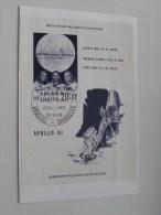 Eerste Man Op De MAAN / LUNE / MOON ( Aldrin Armstrong Collins ) - Anno 1969 ( Zie Foto Voor Details ) !! - Poste & Facteurs