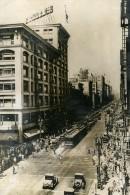 USA Los Angeles 75° Rue Et Broadway Tremblement De Terre Ancienne Photo De Presse Ca 1940 - Non Classés