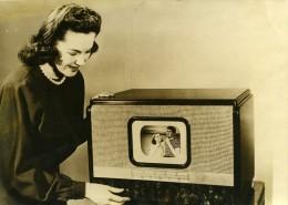 USA New York Petit Poste De Télévision Abordable 150 Dollars Ancienne Photo De Presse 1946 - Photographs