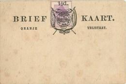 South Africa - Afrique Du Sud - Entier Postal Orange Free State - Vrij Oranje Staat Twee Pence  - Brief Kaart Post Card - Orange Free State (1868-1909)