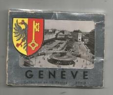 Photographie , Suisse , GENEVE , Serie 1 , , Ed : Jaeger , CARNET DE 10 PHOTOGRAPHIES - Lieux