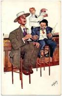 BKWI Art Nouveau Dessinateur Josef... Graphisme Exceptionnel  1909 état Superbe TOP+++ - Illustrateurs & Photographes
