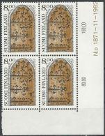 FINNLAND 1983 MI-NR. 921 Eckrandviererblock ** MNH (99) - Finland