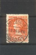 Langebalkstempel Amsterdam Cent Station 7 Op Nvph 124 - 1891-1948 (Wilhelmine)