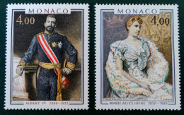 PRINCES ET PRINCESSES DE MONACO 1980 - NEUFS ** - YT 1245/46 - MI 1441/42 - Monaco