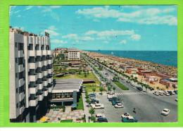 RICCIONE - Riviera Adriatica - Lungomare / Promenade Du Bord De Mer / Sea Promenade , 1971 - Italie