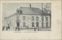 Montaigu :   L. Van Vinckenroy   -  Hôtel  Vieille  Barriere  -  Restaurant;   1900 - Scherpenheuvel-Zichem