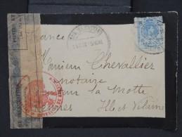 ESPAGNE-Enveloppe De San Sebastian Pour Rennes Avec Censure Française En 1915 à Voir Lot P6794 - Cartas