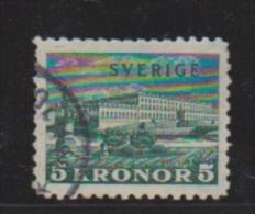 SUEDE  //  N 223   //  5 Kronor  Vert  // Oblitéré // Côte 15  € - Suède