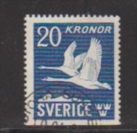 SUEDE  // Poste Aérienne //   N  7  //  20 Kronor  Outremer   // Oblitéré  // Côte 17 € - Poste Aérienne