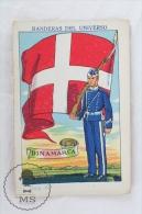 Rare 1900´s Trading Card/ Chromo - WWI Denmark Flag & Military Uniform - Other