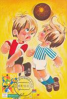 D20557 CARTE MAXIMUM CARD RRR FD 1993 NETHERLANDS - SOCCER COMICAL CARD CP ORIGINAL - Soccer