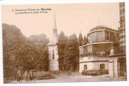 31040  -  Marchin  Sanatorium  Militaire -  La Chapelle Et Le Jardin D'hiver - Marchin