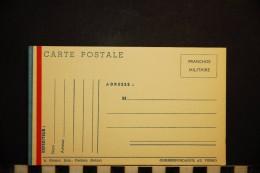 CP, Militaria, Carte En Franchise Militaire Correspondance Militaire  Edition Breger Cachan Seine - Matériel
